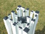 Nůžkový stánek 3x3m, černý